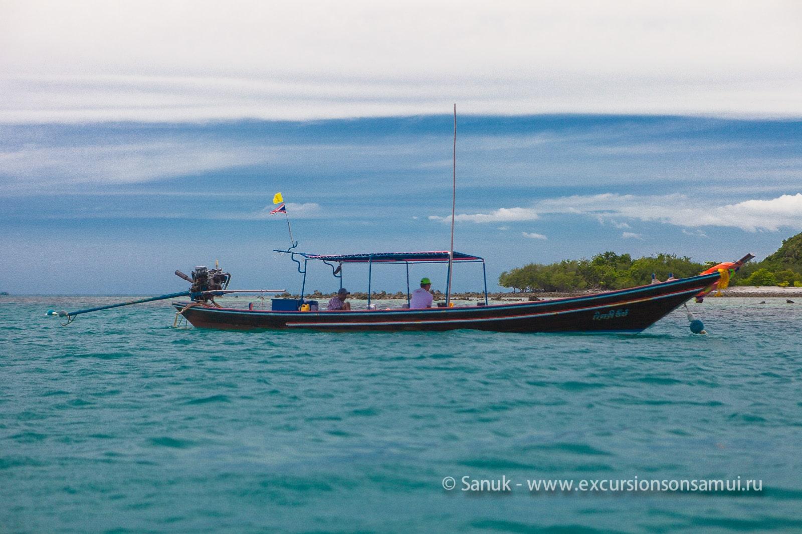 Снорклинг и рыбалка на острове Тан, остров Самуи, Таиланд