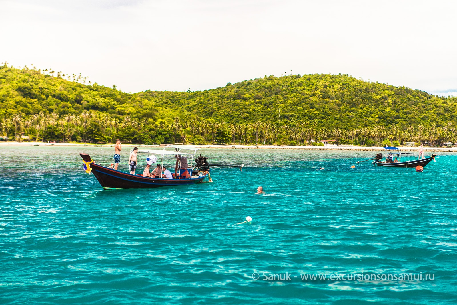 Каякинг и снорклинг на о. Тан, остров Самуи, Таиланд