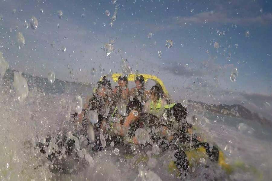 Водный аттракцион «Торнадо», остров Самуи, Таиланд