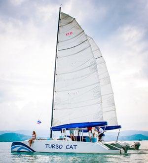 TurboCat catamaran, Koh Samui