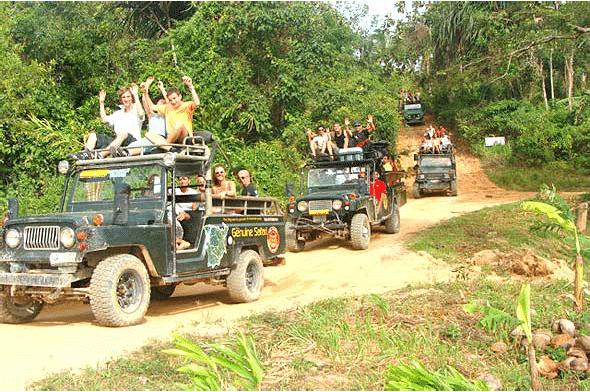 Джип-сафари на целый день, остров Самуи, Таиланд