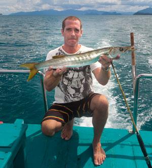 Дневная морская рыбалка на о. Самуи