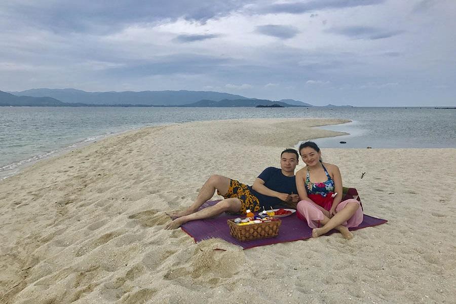 Романтический круиз с ужином на пляже, остров Самуи, Таиланд
