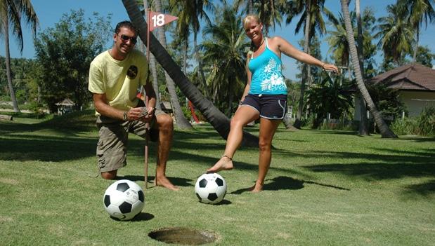 Футбол-гольф на Самуи, остров Самуи, Таиланд